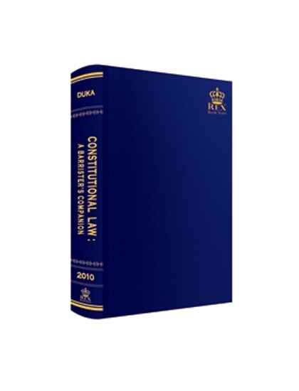 Constitutional Law: A Barrister's Companion