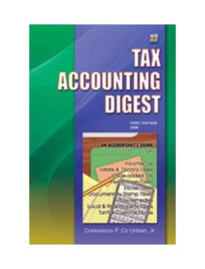 Tax Accounting Digest