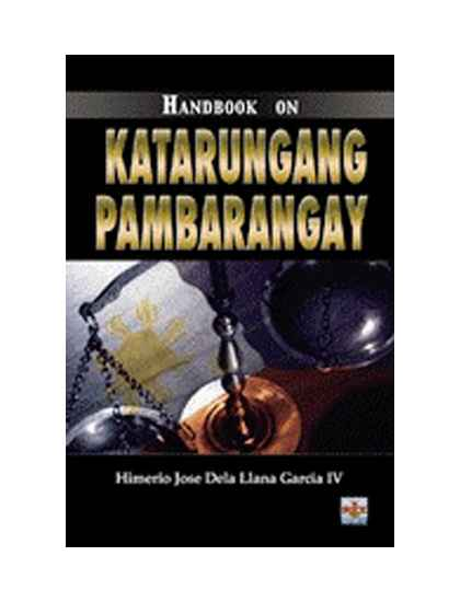 Handbook on Katarungang Pambarangay