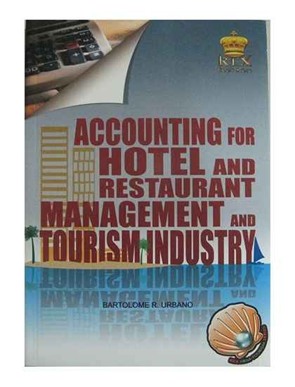 Accounting for Hotel and Restaurant Management and Tourism Industry
